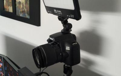 Canon camera als webcam in Teams